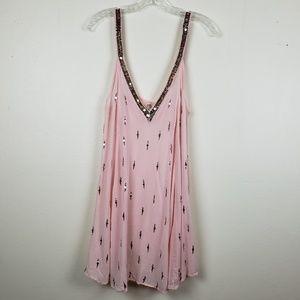 Free People Intimately   Pink Dress. Size XS.